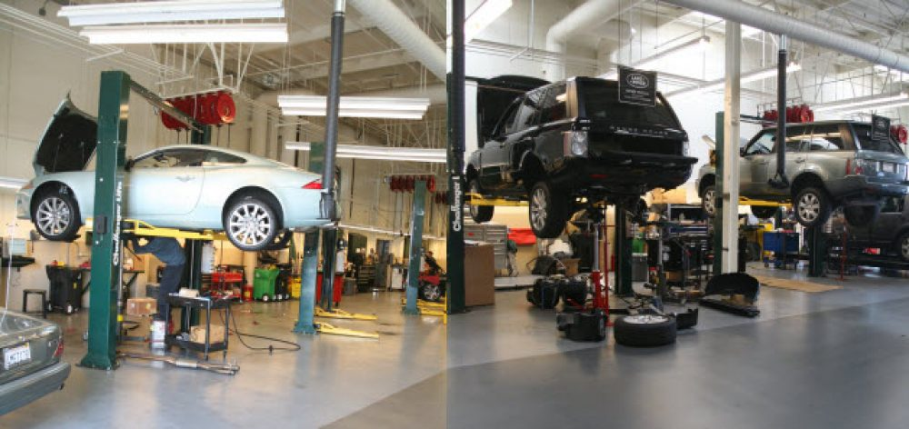 Beautiful Jaguar Land Rover Newport Beach Service Department ...